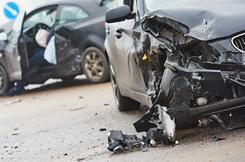 事故で損傷がひどい